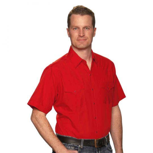 Ely /& Walker Mens Short Sleeve Solid Shirt
