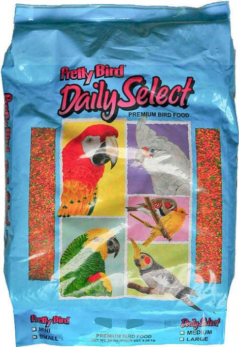 Pretty Bird Daily Select Premium Food Mini 20 lb.